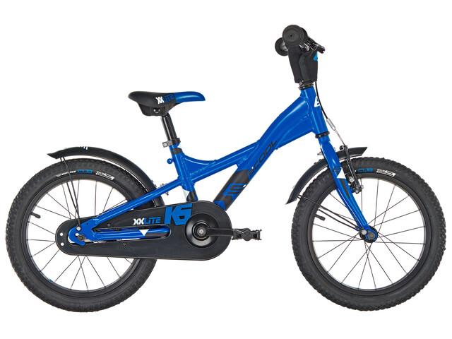 s'cool XXlite 16 Børnecykel alloy blå